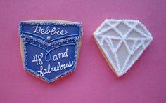 denim cookies | denim & diamonds | Lily's Cookies