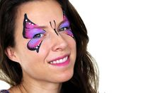 Basic Butterfly Face Painting Tutorial