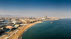 Coast of Barcelona