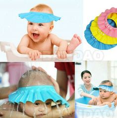 Adjustable Baby Shower Cap, 3 Colors Available