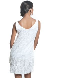 flapper dresses | ... Sequin and Silk Charmeuse Modern Flapper Dress with optional scarf