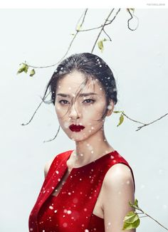 Zhang Jingna and stylist Phuong My collaborate for FGR's latest exclusive starring actress Ngo Thanh Van
