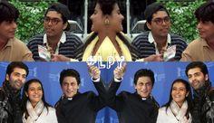 Karan Johar, Kajol #Bollywood #ShahrukhKhan #KingKhan #Edit #LPY