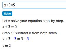 great online algebra calculator with step-by-step instructions on getting the answer! did i mention free?