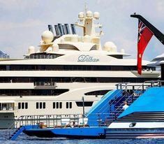 M/Y Madame Gu and the monster Megayacht Dilbar Lürssen                #phoenicianboat #luxury #Superyacht #lifestyle #boat #yacht