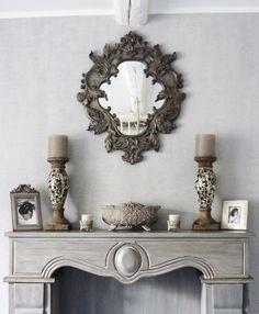 fausse chemin e d co maison du monde manteau de chemin e maison du monde salon pinterest. Black Bedroom Furniture Sets. Home Design Ideas