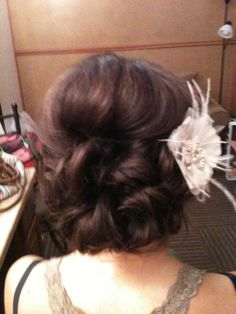 bridal updo by Whitney Renee' Anderson