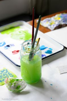 Acrylic is Versatile: Fun Acrylic Painting Techniques · Craftwhack Acrylic Painting For Beginners, Acrylic Painting Techniques, Art Techniques, Painting Tutorials, Acrylic Paintings, Art Tutorials, Oil Painting For Sale, Painting For Kids, Art For Kids