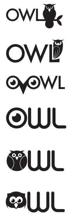 Owl logo > What do you think, Gracie?               So cute!!!