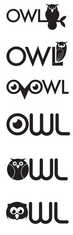 Owl logo > What do you think, Gracie?               So cute!!!