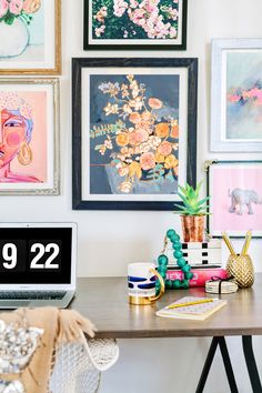 Showcase your eclectic style with a gallery wall from Minted.