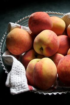 Really into fresh fruit this summer! Just bought some beautiful peaches.