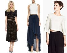crop tops the right way without showing your tummy