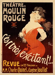 We have a great collection of vintage theatre and cabaret posters here, the vast majority being from two worldwide known institutions in the fields: Moulin Rouge and Broadway. Furthermore, the oldest poster to feature in this article is the one for a p… Poster Art, Retro Poster, Kunst Poster, Poster Prints, Vintage Advertisements, Vintage Ads, French Vintage, Cabaret Vintage, Vintage Dance