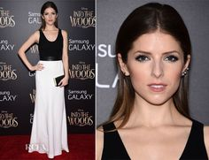 Anna Kendrick In Narciso Rodriguez – 'Into the Woods' World Premiere
