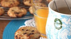 Cookies au quinoa et pépites de chocolat