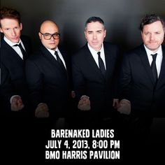 Traditionally an arena act, the Barenaked Ladies, with special guest, will perform a series of intimate theatre shows in November, as part of their Cross. Merriweather Post Pavilion, Barenaked Ladies, Old Port, Big Show, Special Guest, News Songs, I Fall In Love, Music Is Life, Rolling Stones
