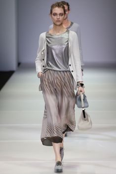 Giorgio Armani- MILAN FASHION WEEK - SS15