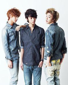 Minwoo 민우, Kwangmin 광민, & Jeongmin 정민 from Boyfriend 보이프렌드
