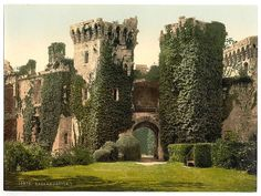 The Library of Congress [Raglan Castle, I., Wales] (LOC)