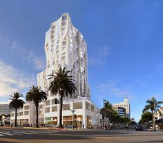 Whoa: starriest starchitect Frank Gehry is designing a tower on Ocean Avenue in Santa Monica, according to plans submitted today. The Santa Monica Daily Press reports that the tower will. Frank Gehry, Santa Monica, Amazing Buildings, Modern Buildings, Residential Architecture, Art And Architecture, Chinese Architecture, Architecture Details, Road Trip