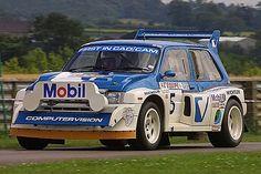 6R4 Classic Group B rally car.