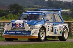 6R4 Classic Group B rally car.