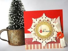 Be merry by Heather Nichols for Papertrey Ink (October 2011).