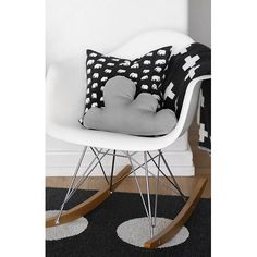 Fantastisch Eames RAR Stuhl In Weiß. WohnenCharles EamesSchaukelstuhl