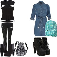 back to school Ashley Stewart, River Island, Back To School, Victoria's Secret, Topshop, Polyvore, Style, Fashion, Swag