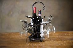 Подставка для винных бутылок #ковка #дизайнинтерьера #forged_iron #interiordesign