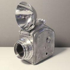 Clinical-Camera-Rare-Alphatron-Cast-Aluminum-1941-Single-Reflex-ww2-Medical