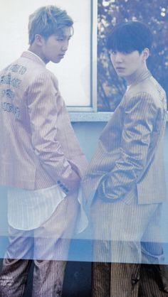 SugaMon || BTS Suga & Rap Monster || Bangtan Boys Min Yoongi & Kim Namjoon