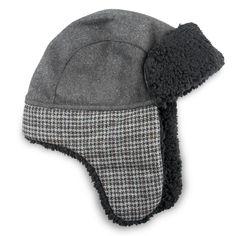 Trapper Hats Cat   Jack Charcoal (Grey) Boy s Size  8-16  Apparel   ApparelAccessories  Hats GlovesandScarves  Hats 256cdb95a2aa