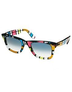 Ray-Ban Pattern Square Wayfarer Sunglasses - StyleSays