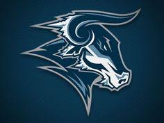 2010 Logo Collection on Behance Bull Tattoos, Taurus Tattoos, Sports Team Logos, Sports Art, Logo Design Inspiration, Icon Design, Toro Logo, Rhino Logo, Draw Logo