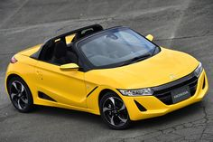 PHOTO 22: Car: HONDA: S660: (Continuation) HONDA S660 (Prototype) test drive was held at Sodegaura Forest Raceway. Photo from Japan car media Web CG. (http://www.webcg.net/articles/-/32299?ph=22)