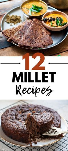 More than 12 Healthy Millet Recipes for you! Millet Flour recipes - from porridges to Crepes,Dosas and Cakes. - Choose Healthy living with Ragi ,Kodo, Pearl and Barynard Millet.Also understand Why Millets are better for you, it's Benefits and how you can Vegetarian Cooking, Easy Cooking, Vegetarian Recipes, Cooking Recipes, Ragi Recipes, Flour Recipes, Millet Recipes Breakfast, Millet Recipe Indian, How To Cook Millet