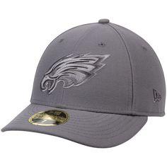 Philadelphia Eagles New Era Graphite League Basic Low Profile 59FIFTY Structured Hat - Gray - $34.99