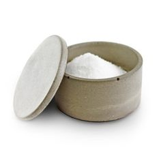 Culinarium – Small Concrete Salt Cellar – Gray