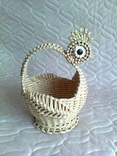 Тамара Задорина - Мои плетёнки из бумажных трубочек.   OK
