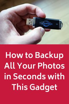 How to Backup All Your Photos in Seconds with This Gadget Things To Know, Good Things, Tecno, Photo Transfer, Photo Storage, Computer Technology, Photo Tips, Good To Know, Photography Tips