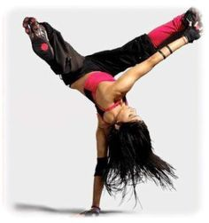 Learn to break Dance. I honestly don't know why I haven't done this. I dance. I have a gymnastics background. I do yoga (inversions build the same strength)... just...  how do u start?