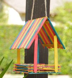 maison à oiseaux en bois