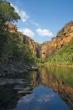 ▲ Jim Jim Falls, Kakadu National Park, Northern Territory, Australia