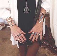 I do love these rings and bracelets!