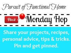 Pin It Monday Hop