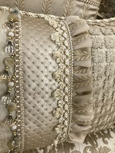 Custom Pillows, Decorative Pillows, Luxury Cushions, Luxury Bedding Collections, Bedding Sets Online, Luxurious Bedrooms, Drapes Curtains, Bed Design, Home Decor Accessories