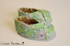 Zapatos Kimono para bebé Kimono Baby Shoes por VioletDesvarie, €16.00