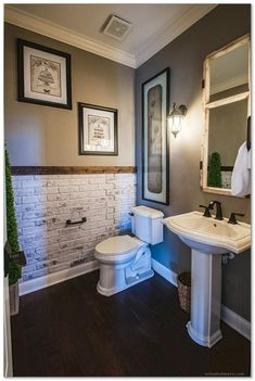 Easy Tips to Design a Small Mater Bathroom + 66 Examples
